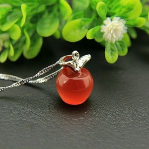 925 SILVER APPLE NECKLACE